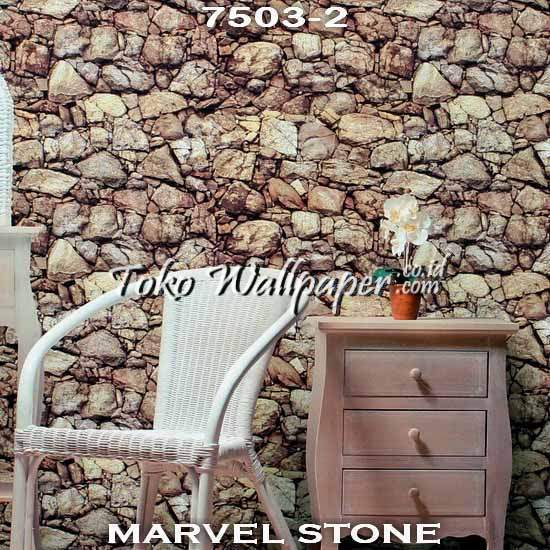 02 Jual Wallpaper Korea MARVEL STONE