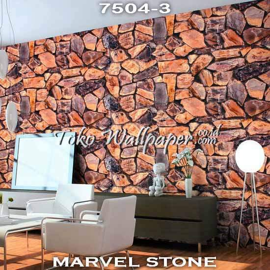 04 Jual Wallpaper Korea MARVEL STONE