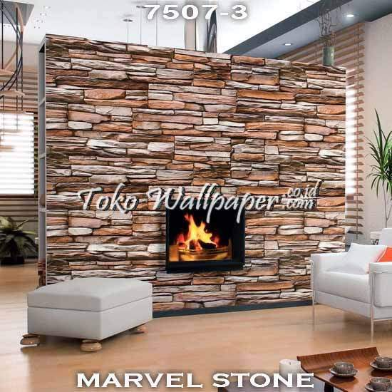 08 Jual Wallpaper Korea MARVEL STONE