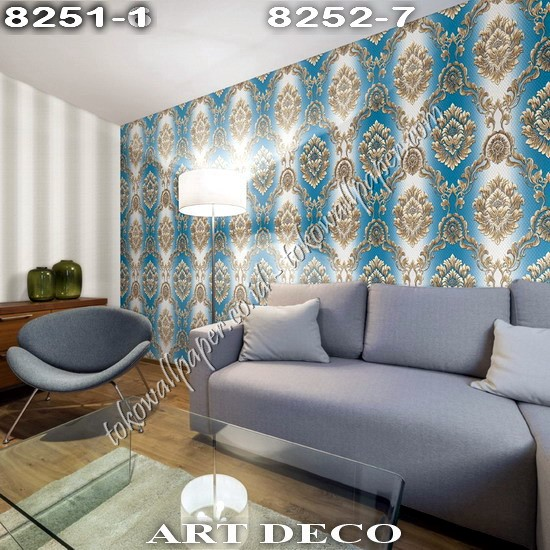 Supplier Wallpaper Korea Art Deco Premium