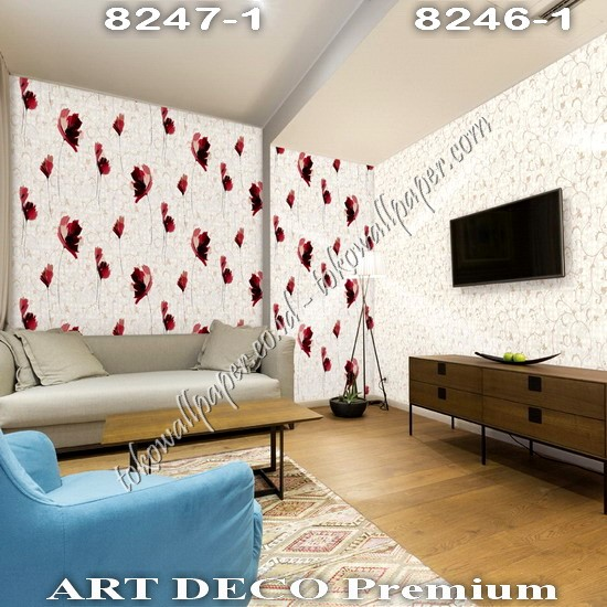 Toko Wallpaper Korea Art Deco Premium