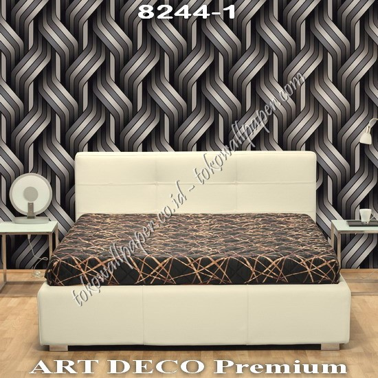 Agen Wallpaper Korea Art Deco Premium