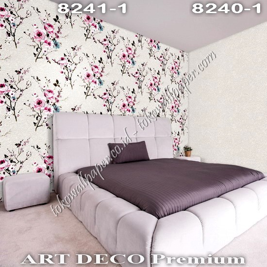 Wallpaper Dinding Korea Art Deco Premium