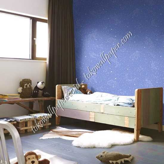 Jual wallpaper dinding kamar anak Dream World di Bukittinggi