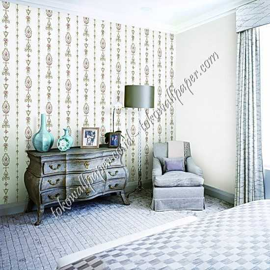 Supplier wallpaper dinding korea Garden III di Padang