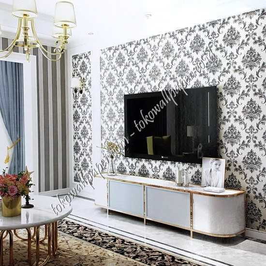 Jual wallpaper dinding New Chanel di Garut