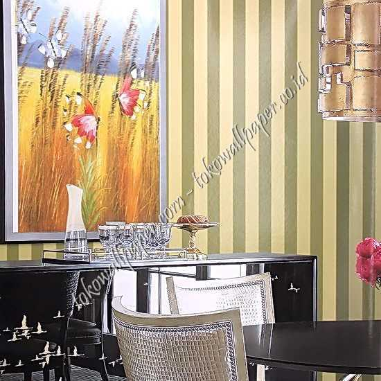 Jual wallpaper dinding New Chanel di Gorontalo