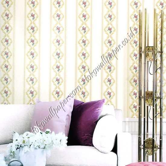 Jual wallpaper dinding New Chanel di Indramayu